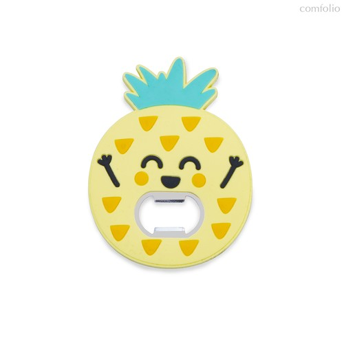 Открывалка Pineapple магнитная, цвет желтый - Balvi
