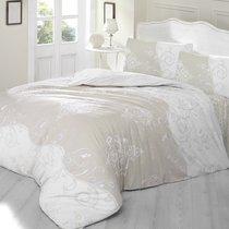 Постельное белье Ranforce Melina, цвет бежевый, размер 1.5-спальный - Altinbasak Tekstil