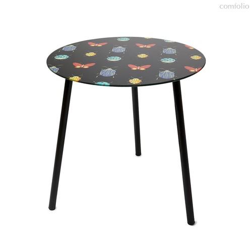 Столик приставной Bugs черный, цвет черный - Balvi