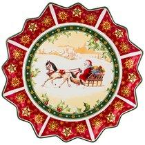 Блюдо Christmas Collection Диаметр 38 см Высота 4 см - Cheerful Porcelain
