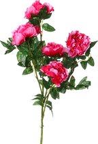 Цветок Искусственный Пион Длина 100 см - Huajing Plastic Flower Factory