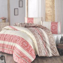 Постельное белье Ranforce Monica, размер Евро - Altinbasak Tekstil