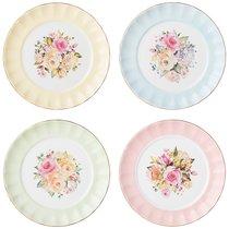 Набор Тарелок Десертных Lefard Времена Года 19 см Микс - Kingensin Porcelain Industrial