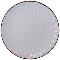 Тарелка Десертная 20 см Коллекция Мираж Цвет:Белое Облако - Changsha Happy Go