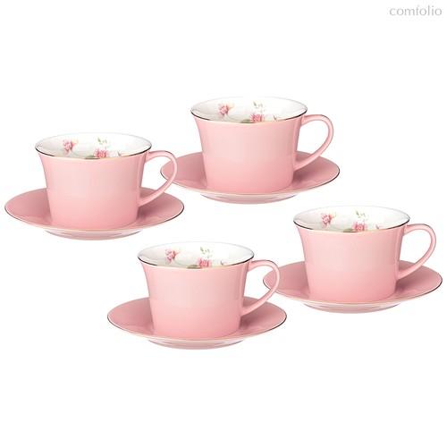 Чайный Набор Lefard Времена Года 260 мл 8 Пр. На 4 Пер. Розовый - Kingensin Porcelain Industrial