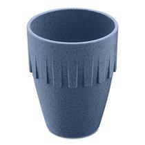 Кружка для капучино CONNECT Organic 300 мл синяя - Koziol