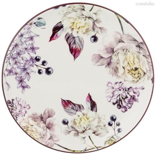 Тарелка Пурпур 21x21 см Высота 2,5 см - Huachen Ceramics
