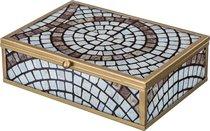 Шкатулка Мозаика 17x13x5,5 см - Loucicentro