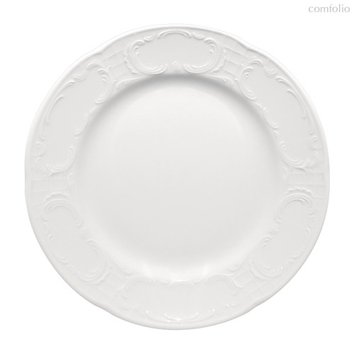 Тарелка круглая круглая 24 см, плоская с глубоким краем, Mozart - Bauscher