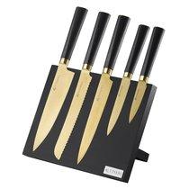 Набор из 5 ножей и подставки Titan Gold - Viners