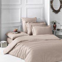 Постельное белье Karna Loft, однотонное, цвет кофейный, 1.5-спальный - Bilge Tekstil