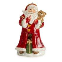"""Колокольчик Lamart """"Дед Мороз и медвежонок"""" 13см - Lamart"""