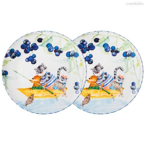 Набор Тарелок Закусочных Lefard Happy Family 2 Шт. 19 см - Jinding