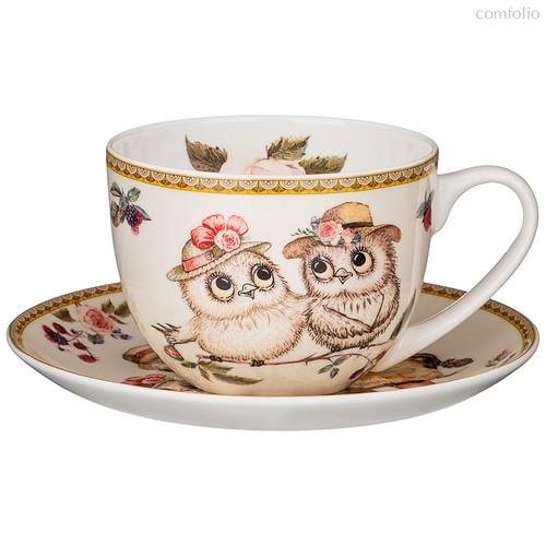Чайная Пара Lefard Owls Party 300 мл - Jinding