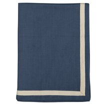Набор из двух кухонных полотенец саржевого плетения темно-синего цвета из коллекции Essential, 50х70 см - Tkano