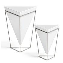 Декор настольный Trigg белый-никель - Umbra