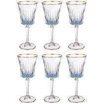 Набор бокалов для вина из 6 шт. 250 мл ВЫСОТА 21 см . - Same