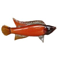 Фигурка Рыба янтарная 49*10,5*23,5 см - Art Glass