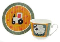 Забавная ферма/Чайная пара для завтрака 500мл - Roy Kirkham