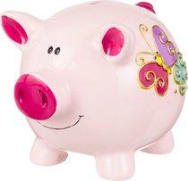 Копилка Поросенок Розовый 19x15 см Высота 15,5 см - Polite Crafts&Gifts