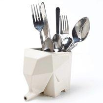 Сушилка для столовых приборов Jumbo кремовая - Peleg Design