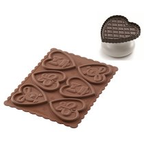 Форма для приготовления печенья Lovely Easter Slim силиконовая - Silikomart