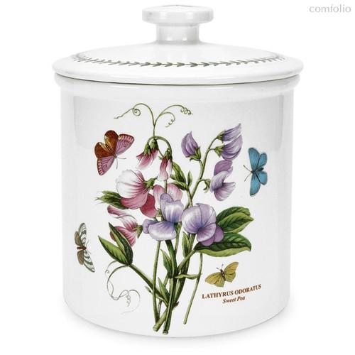 """Банка для сыпучих продуктов Portmeirion """"Ботанический сад. Душистый горошек"""" 23см - Portmeirion"""