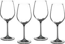 Набор бокалов для вина из 4 шт. БАР 350 мл .ВЫСОТА 23 см . (КОР 12Набор.) - Crystalex