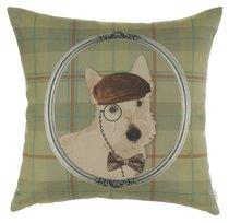 "Чехол для подушки ""Любимый пёс"", 45х45 см, 802-8654/2, цвет серый, 45x45 - Altali"