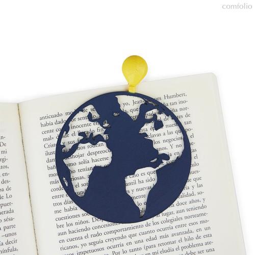 Закладка для книг Globetrotter, цвет синий - Balvi