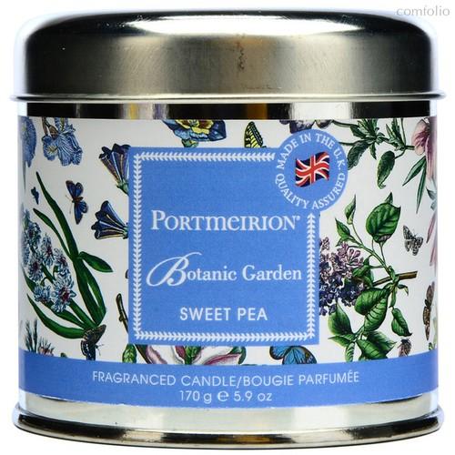 """Свеча в жестяной банке Portmeirion """"Ботанический сад. Душистый горошек"""" 7см - Portmeirion"""