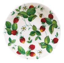 Тарелка суповая 24 см Земляника - Roy Kirkham