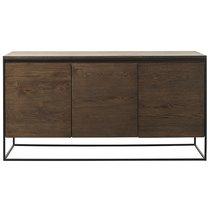Комод Unique Furniture, Rivoli, 3 секции, 155х45х80 см - Unique Furniture
