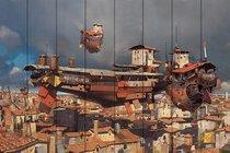 Скай Сити 60х90 см, 60x90 см - Dom Korleone