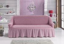 """Чехол для дивана """"BULSAN"""" трехместный, цвет светло-розовый - Bulsan"""