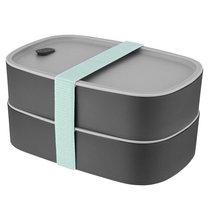 Набор 2пр пищевых контейнера Leo, цвет серый - BergHOFF