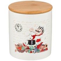 Банка Для Сыпучих Продуктов Коллекция Bellisimo 650 мл 10,3x10,3x12 см - Zhenfeng Ceramics