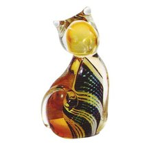 Фигурка Цветной котенок 5,5*10,5 см - Art Glass