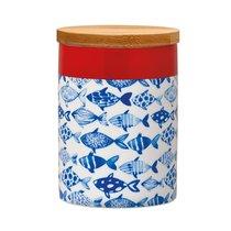 Банка фарфоровая с деревянной крышкой Remember, Fish, 275 мл - Remember