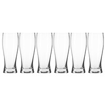 Набор бокалов для пива Krosno Чил Прохлада 500мл, 6шт, стекло - Krosno