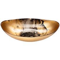Блюдо Moon Art Golden 34 см Без Упаковки - Akcam