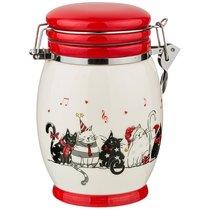 Банка Для Сыпучих Продуктов Коллекция Party Cats 800 мл 13,1x11,1x15 см - Zhenfeng Ceramics