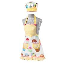 детский фартук поваренка + шапочка (колпак поваренка) LULU (детская коллекция) - Vigar