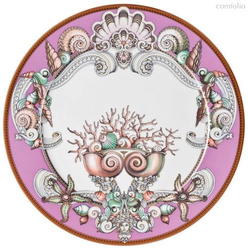 "Тарелка подстановочная 33см ""Морские звезды"" (пурпурная) - Rosenthal"