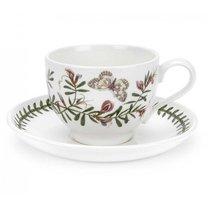 """Чашка чайная с блюдцем Portmeirion """"Ботанический сад.Горошек"""" 280мл"""