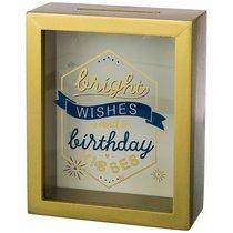Копилка Счастливого Дня Рождения 16x20x7 см - Polite Crafts&Gifts