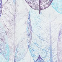"""Штора """"Зимние листья"""", 170х280 см, P708-2019/11, цвет голубой - Altali"""