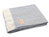 Плед NITRA RESCA 7, цвет серый, 150 x 200 - Italian Woollen Treasures
