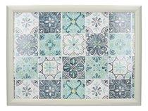 Поднос на подушке Creative Tops Зелёная плитка, 44x34см - Creative Tops