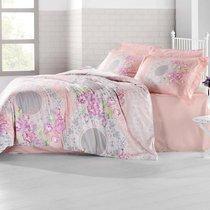Постельное белье Altinbasak Elvin, сатин, цвет коралловый, 2-спальный - Altinbasak Tekstil